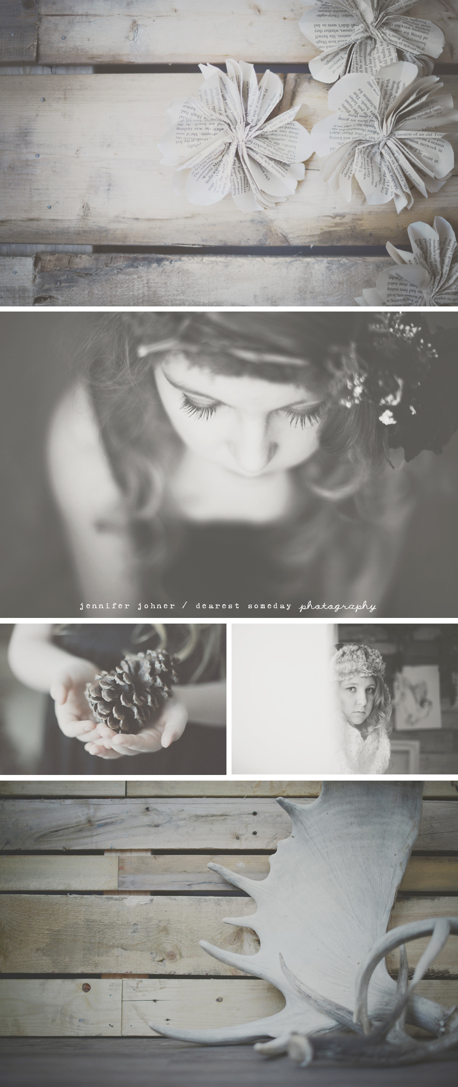 rustic winter styled shoot